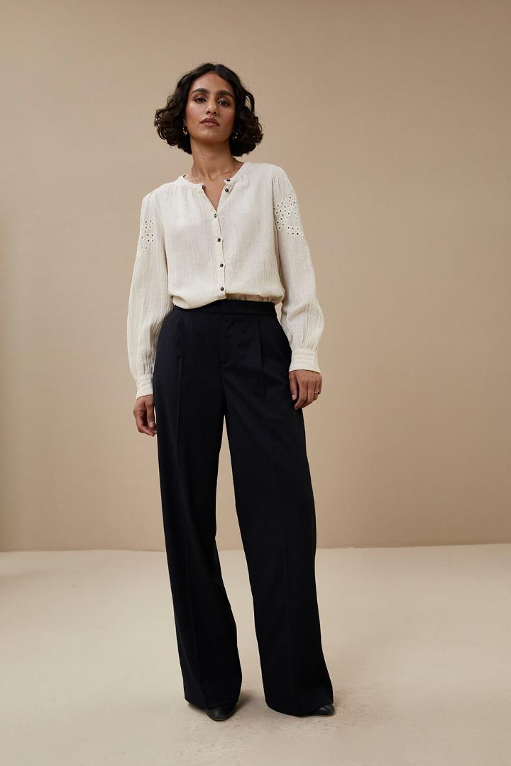 by-bar - ivy slub blouse -