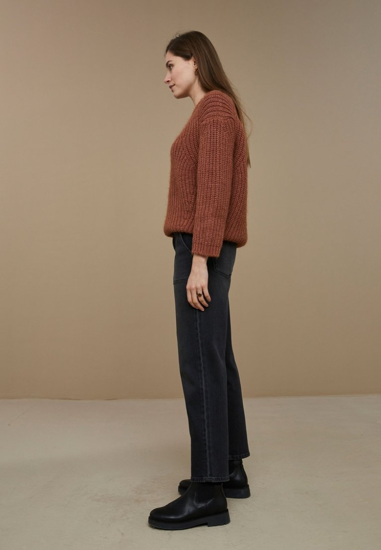by-bar - milan pullover - copper
