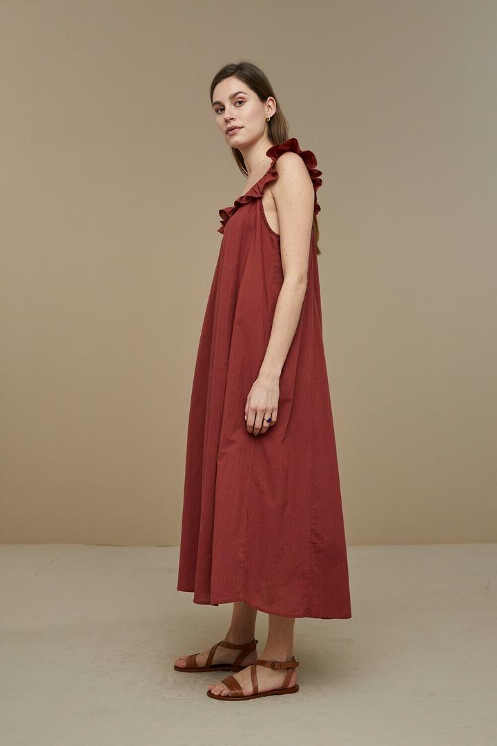 by-bar flore dress - sienna 3