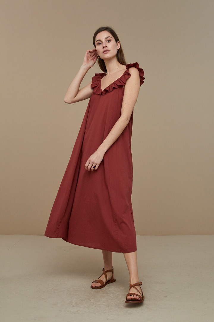 by-bar flore dress - sienna 4