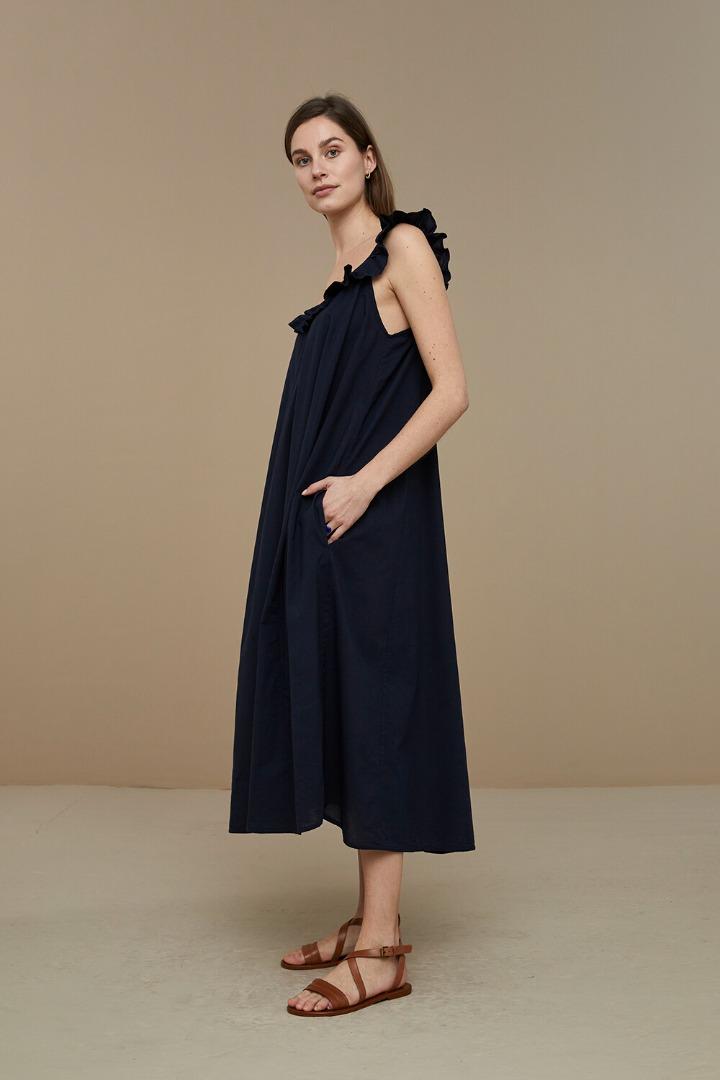 by-bar flore dress - midnight 3