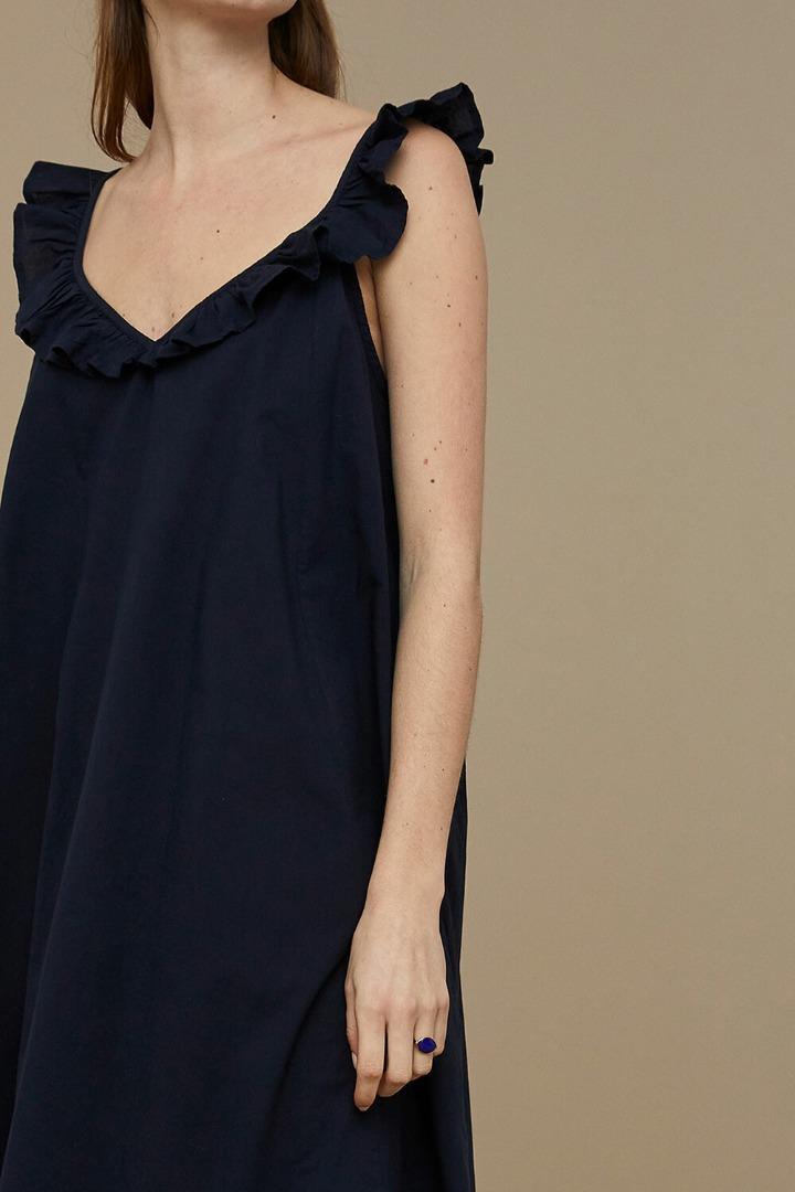 by-bar flore dress - midnight 5