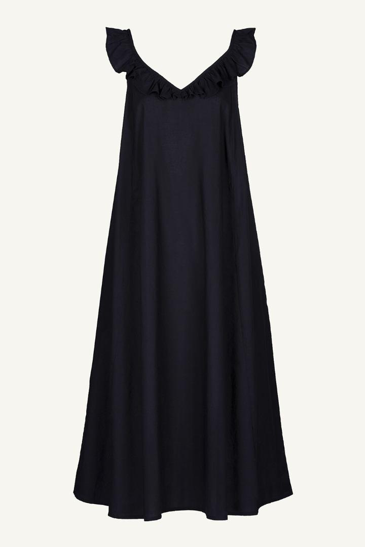 by-bar flore dress - midnight 6