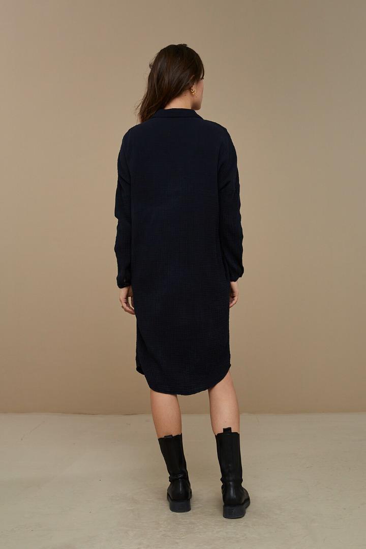 by-bar doppia dress - midnight 3