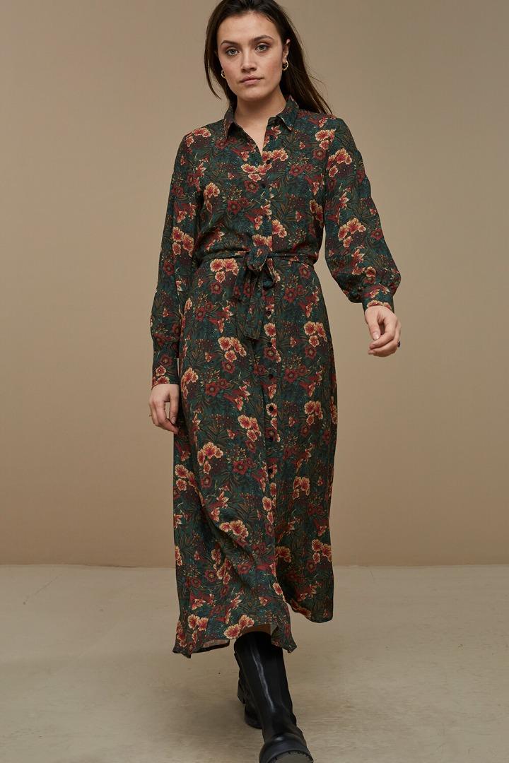 by-bar yara tropic dress tropic print