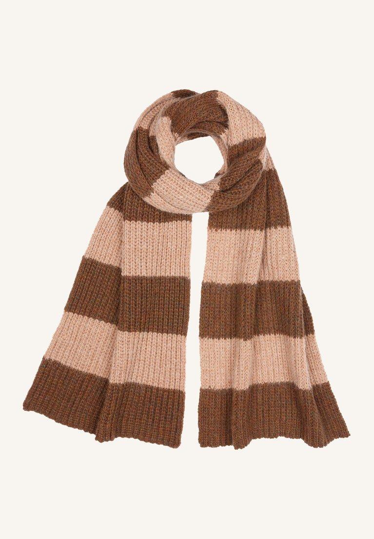 by-bar sofie susi scarf cognac melange