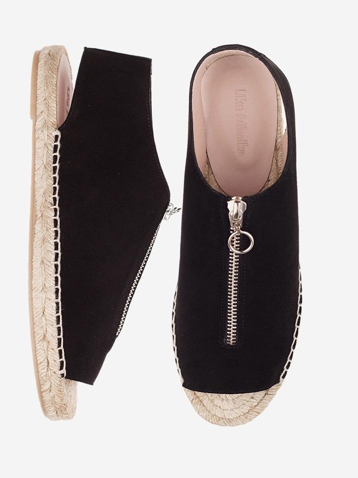 Sandale - SUAVE Peep Toe Zipper