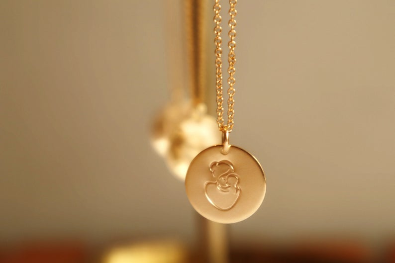 Kette Mother 14k Gold Filled 4