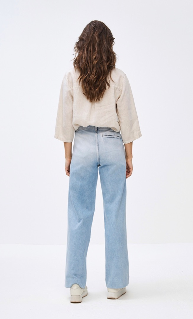 bodil linen blouse - linen 3