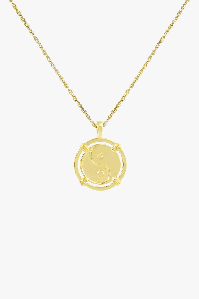 wildthings collectables Yin Yang Coin Pendant