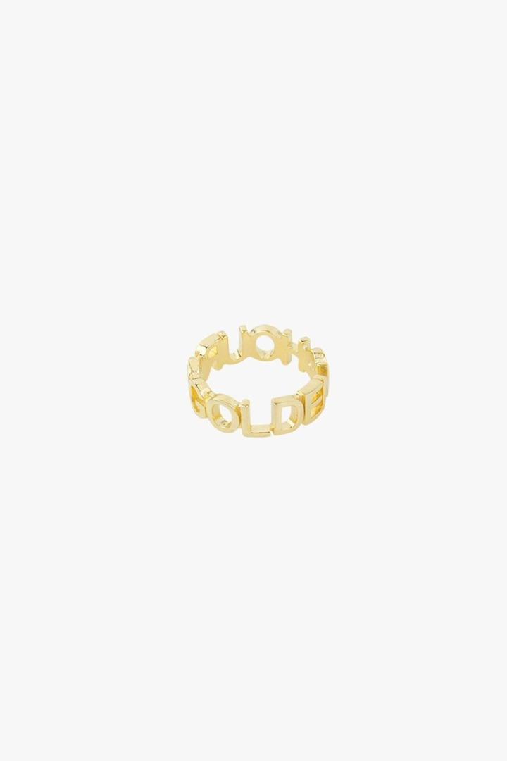 Golden hour ring gold