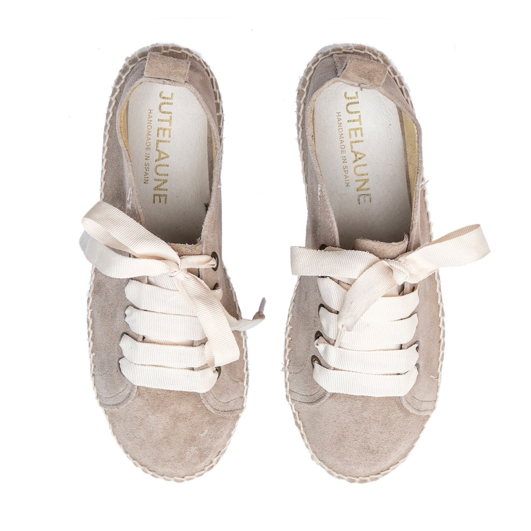 TAUPE ESPADRILLE SNEAKER