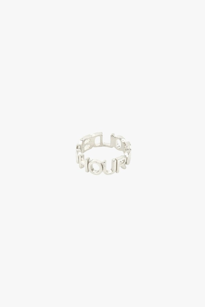 wildthings collectables Golden hour ring silver