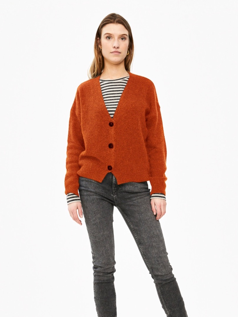 sofie cardigan - chili