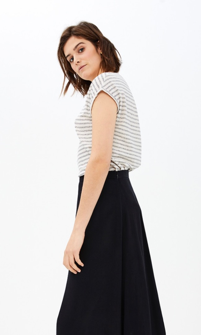 mila linen stripe - linen