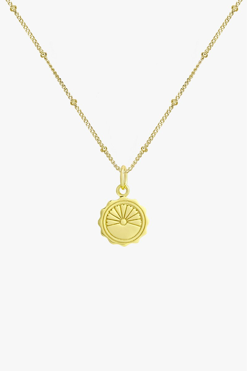 wildthings collectables Voyage coin pendant gold