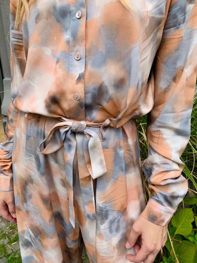Givn - Jumpsuit LOTTIE - grey/copper