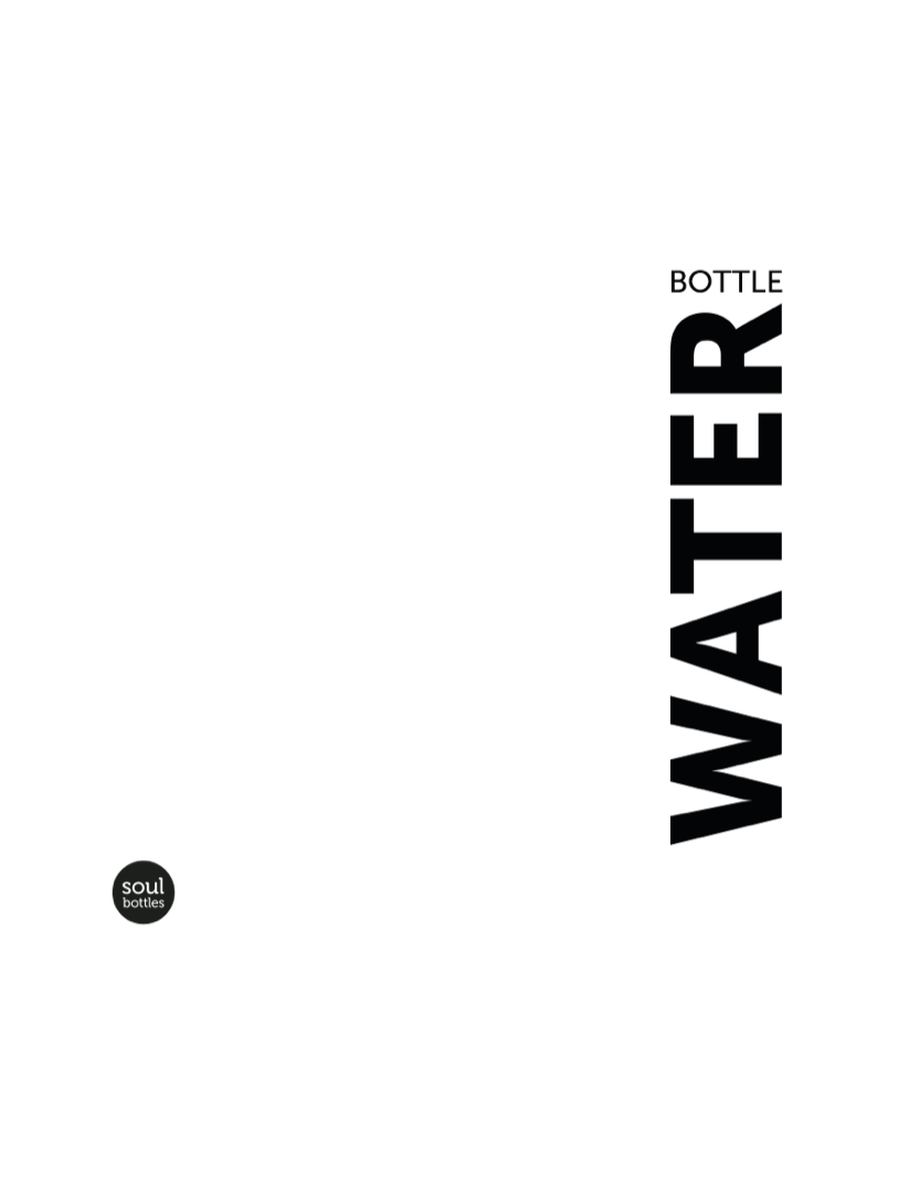 Soulbottle - Water bottle 1 l