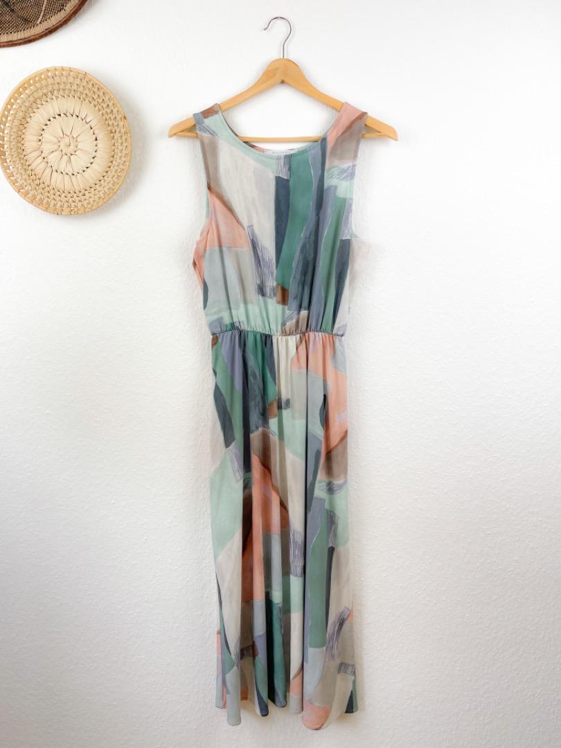 MIO ANIMO - SUN DRESS Pastell