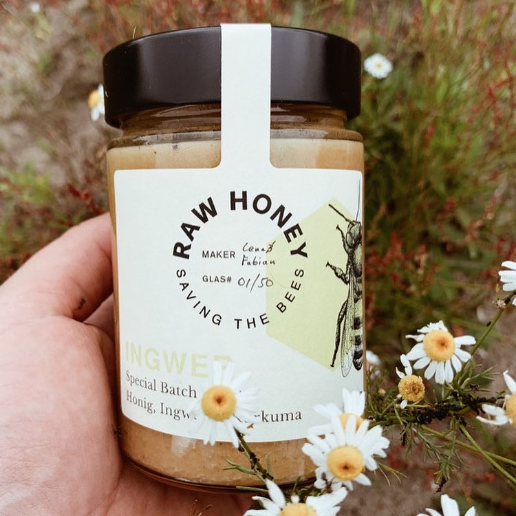 Raw Honey Blütenhonig
