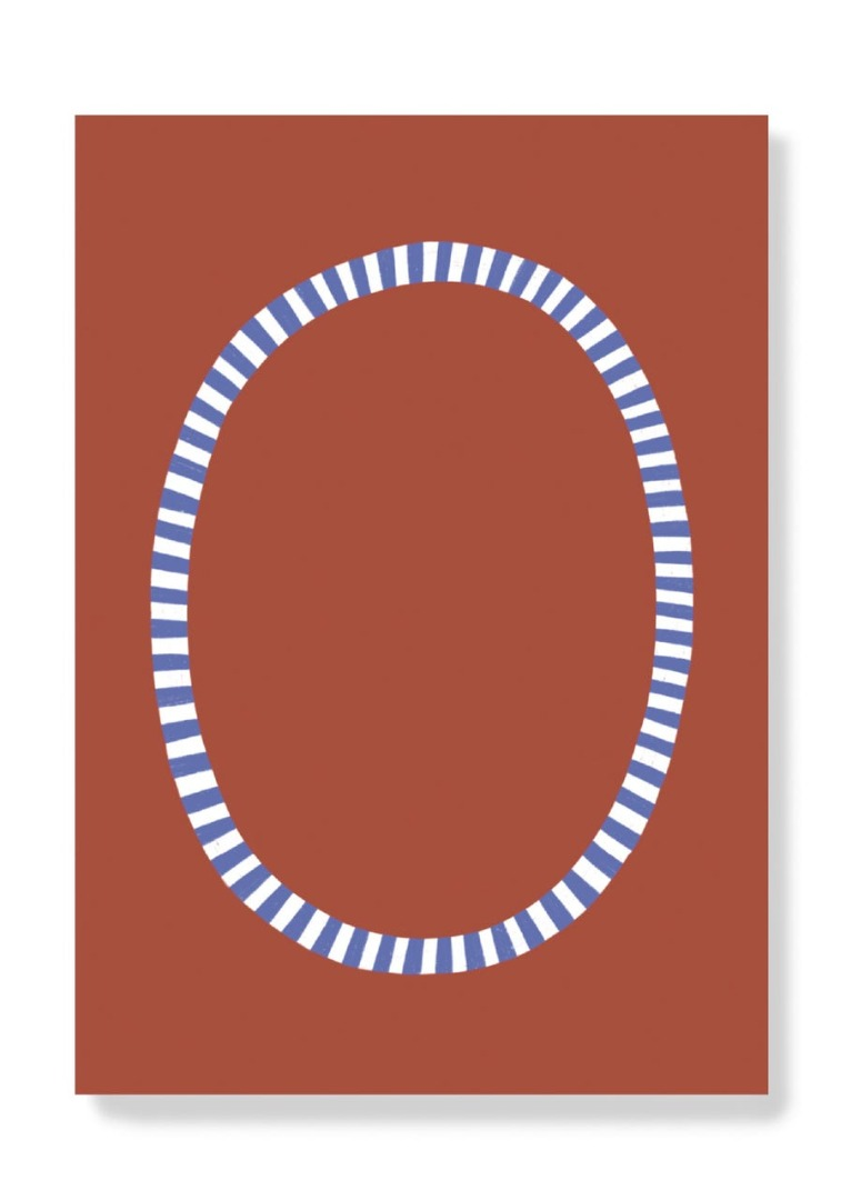 Postkarte - O