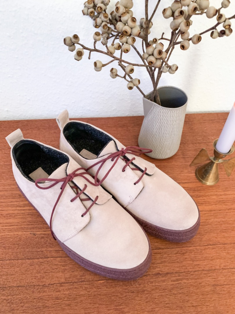 Oanon-fashion Evolo Cipria lined with wool