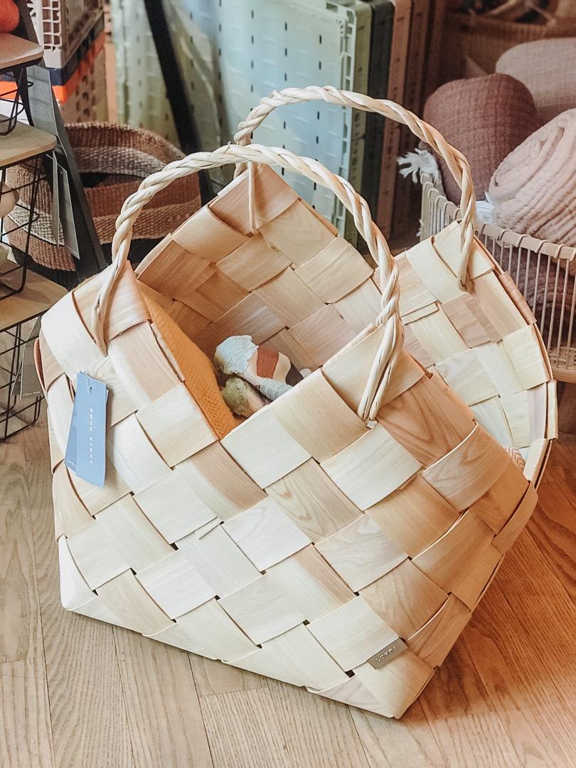 Klapi Wood Basket