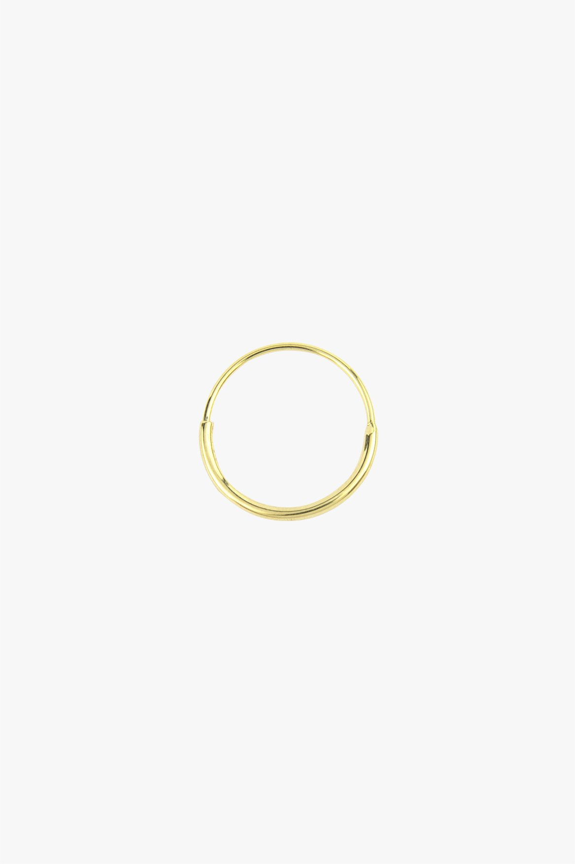 wildthings collectables Hoop with detail gold