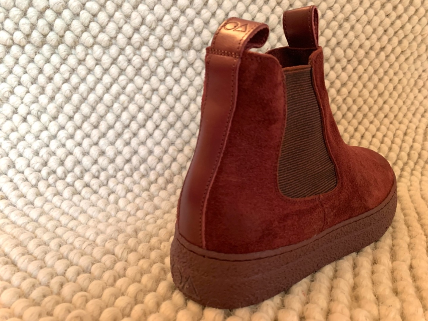 Oanon-fashion Wow Bordo lined with wool