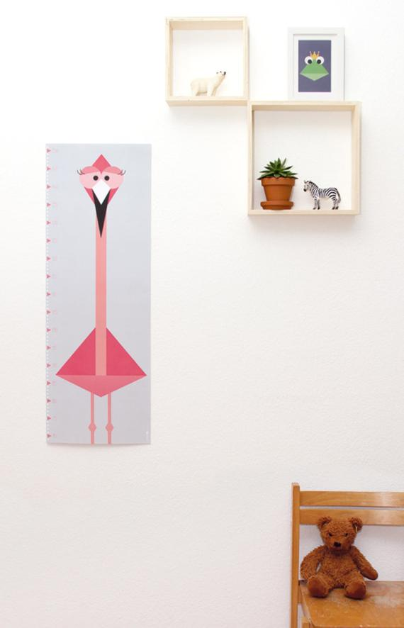 Messlatte / Poster Flamingo
