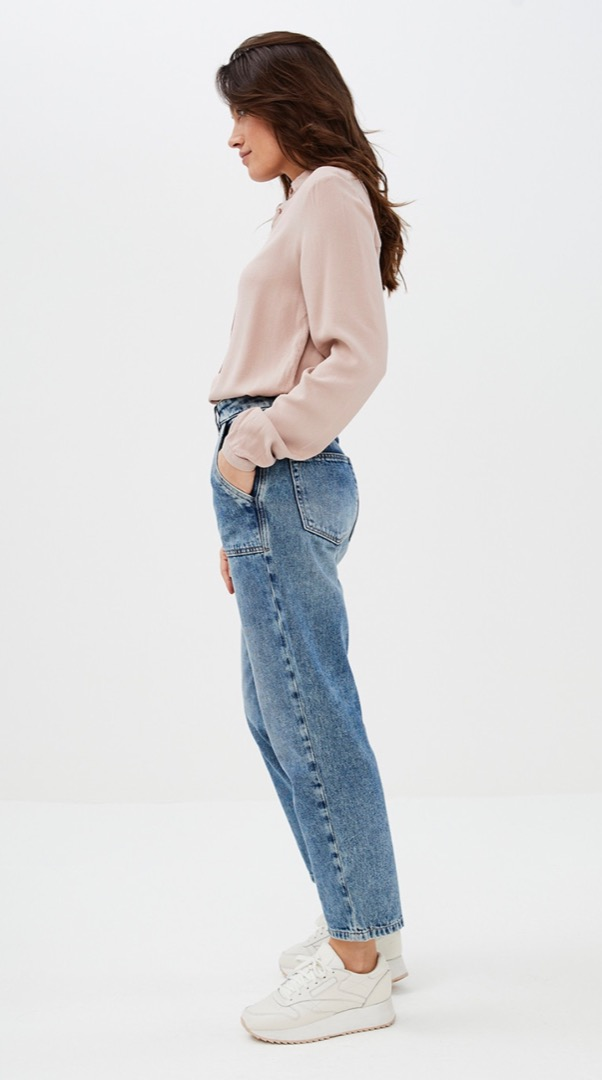 smile pant - denim 2