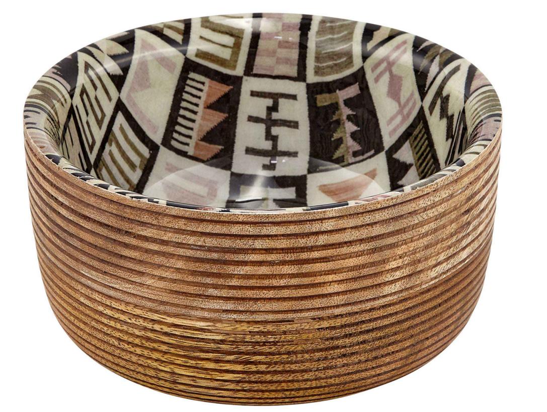 Schale HABIBOU aus Mangoholz klein