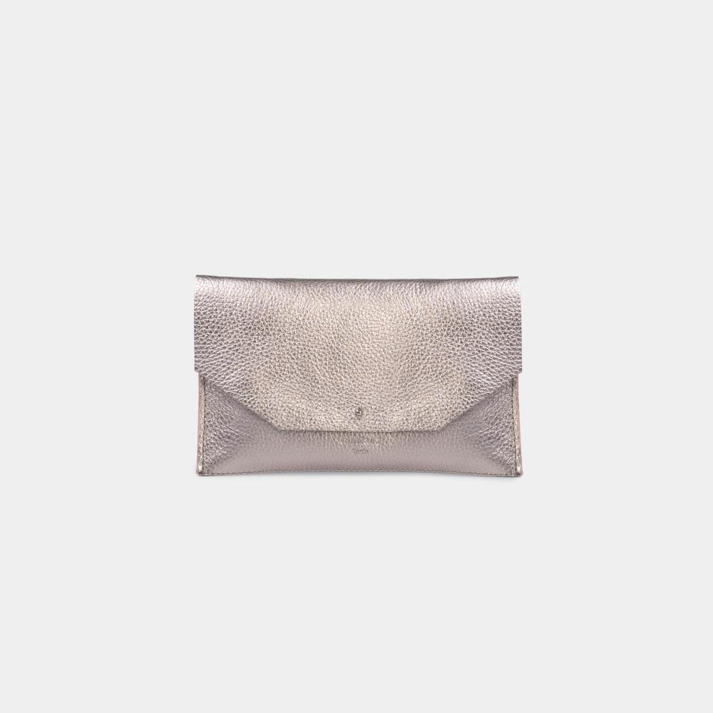 Mia Envelope - Metallic Silver 6