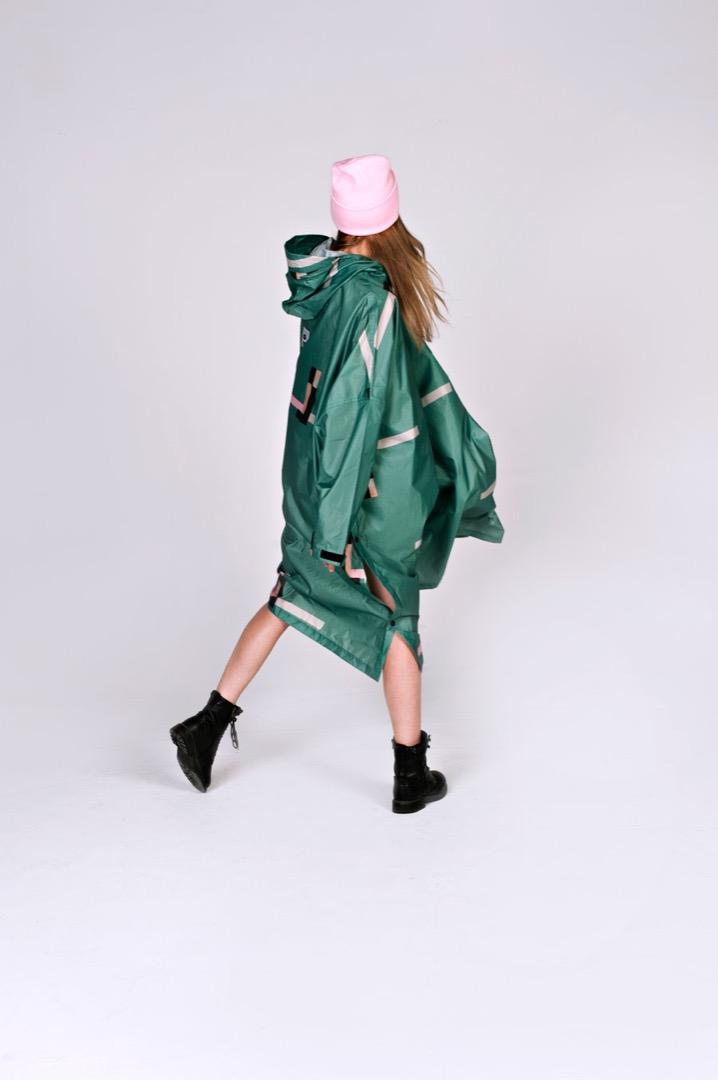 Rainkiss - Rain Poncho - Stray