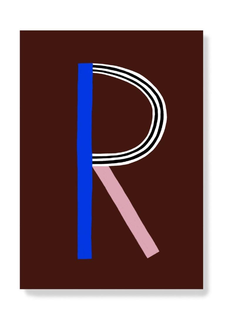 Postkarte - R