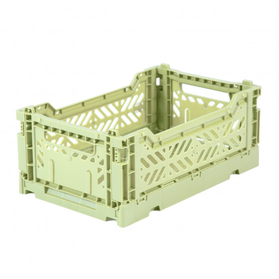 Mini Storage Box - Lime Cream