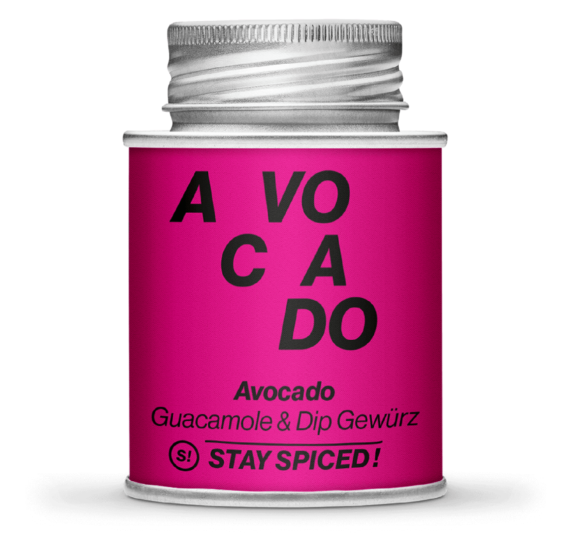 Gewürzzubereitung - Avocado - Guacamole &