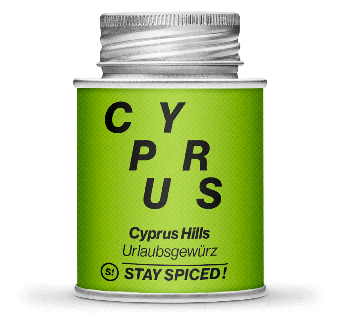 Gewürzzubereitung - Cyprus Hills - Urlaubsgewürz