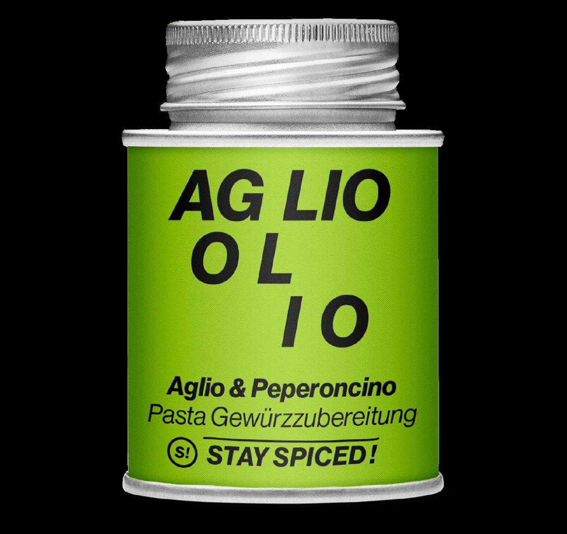 Gewürzzubereitung - Aglio & Peperoncino Gewürzmischung