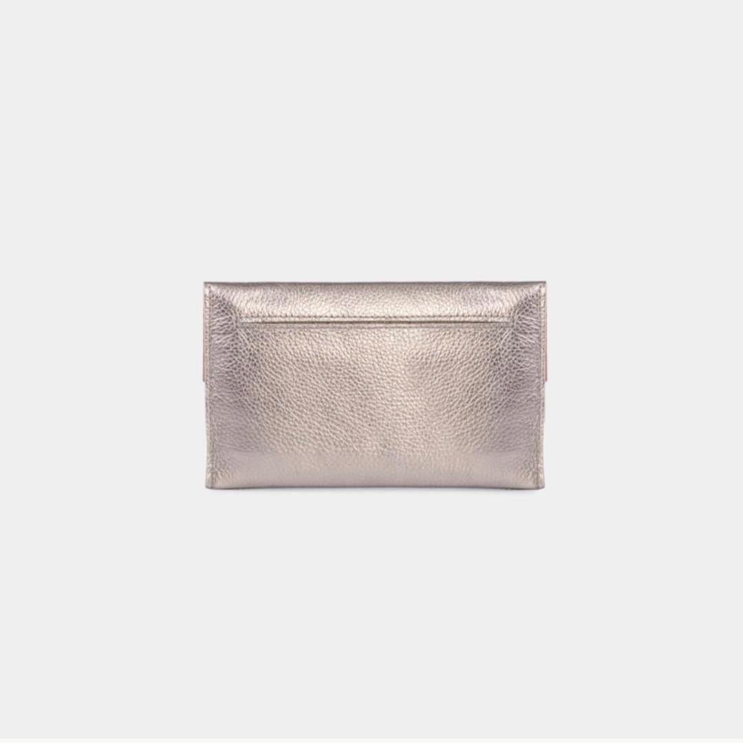 Mia Envelope - Metallic Silver 2