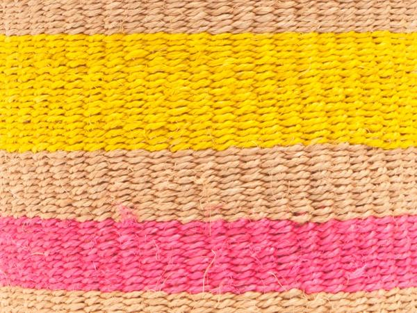 MAZAO Fluoro Pink and Yellow Woven