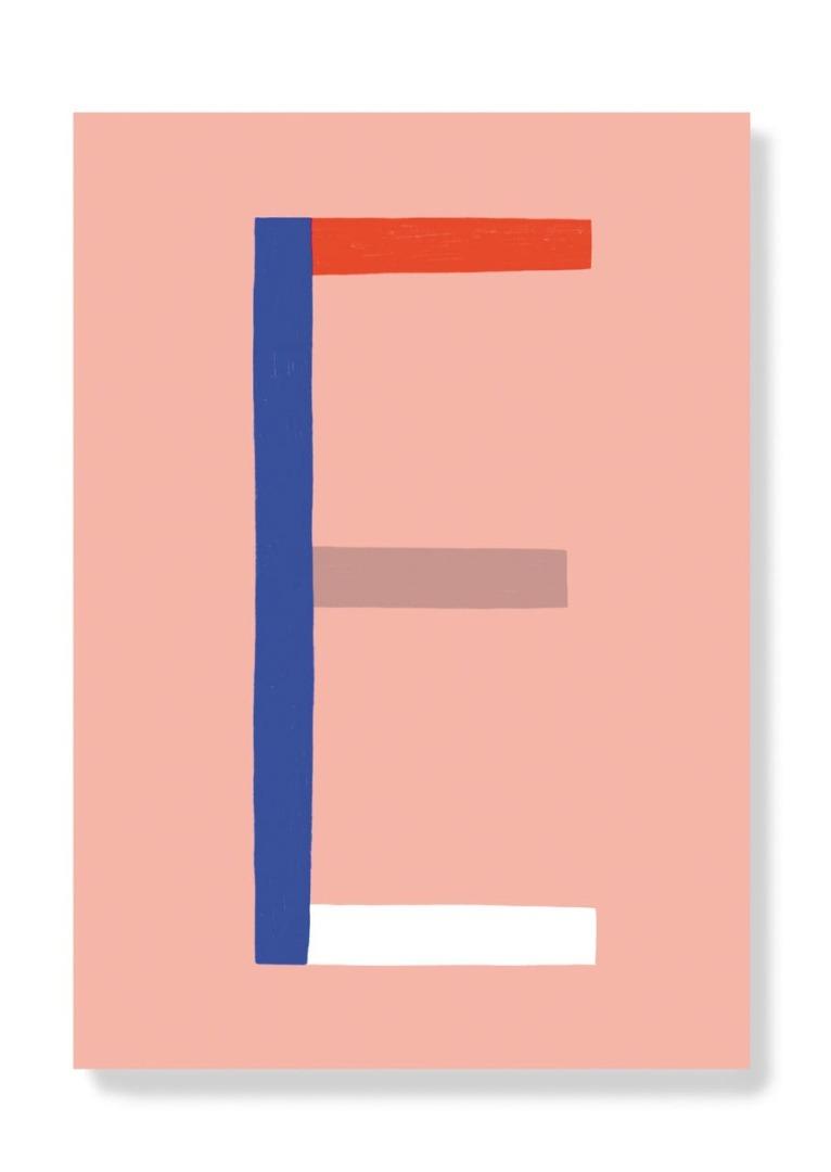 Postkarte - E