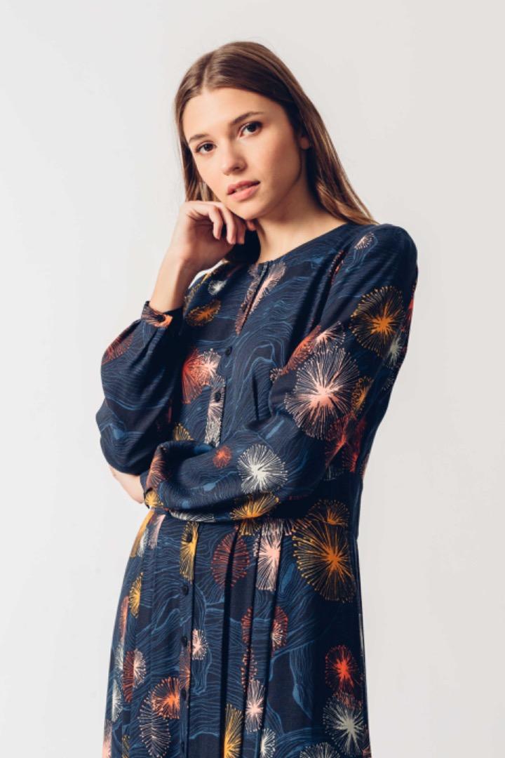 HAIZEA DRESS - mimosa Print 3