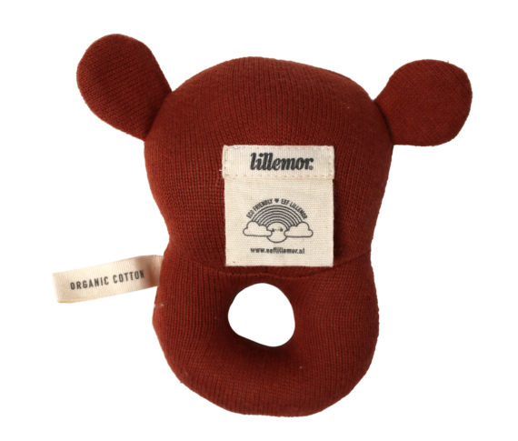 Eef Lillemor Baby Rattle Grizzly
