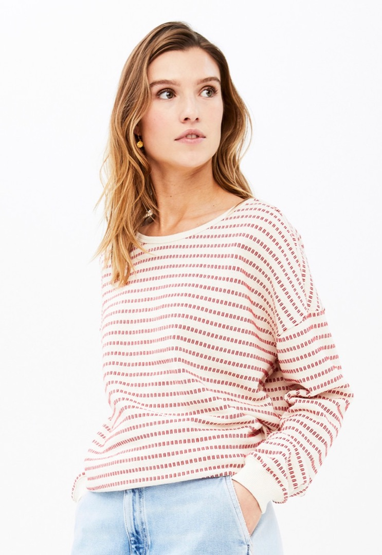 becky multi sweater - salsa