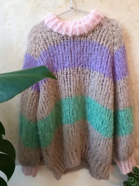 Handgestrickter Pullover S/M 3