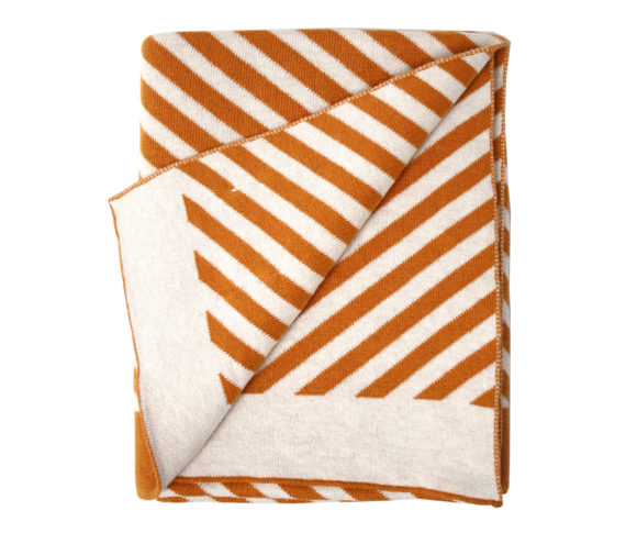 Blanket stripes/brown 2