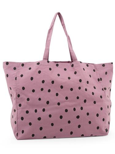 Beutel - Flieder Dots