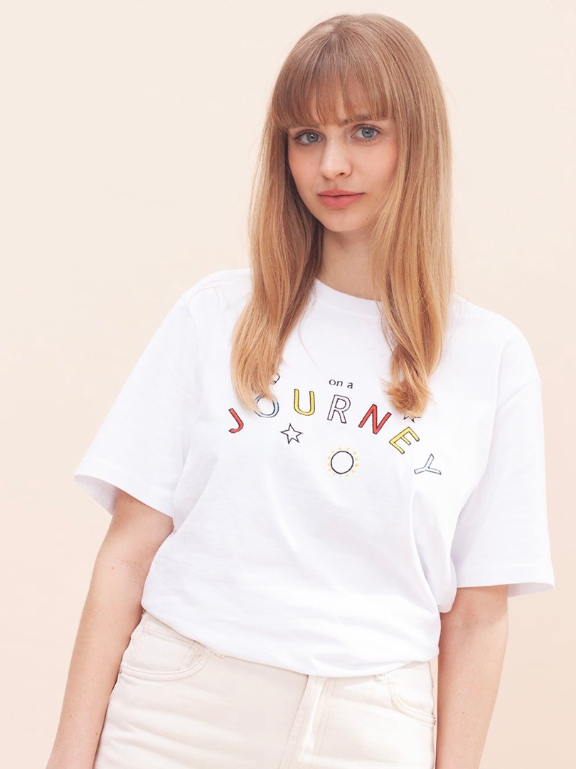 ON A JOURNEY SHIRT WOMOM T-SHIRT