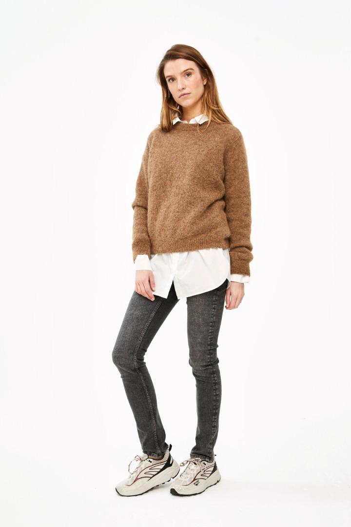 lana organic pullover - camel 2